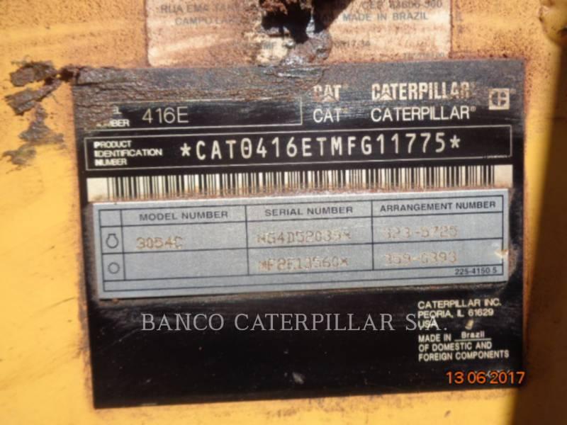 Caterpillar BULDOEXCAVATOARE 416EST equipment  photo 7