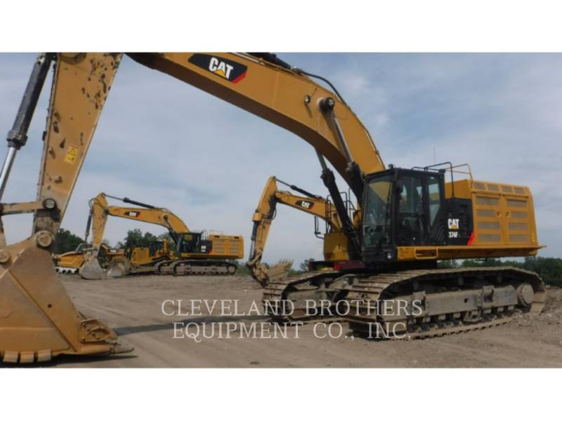 CATERPILLAR EXCAVADORAS DE CADENAS 374FL equipment  photo 1