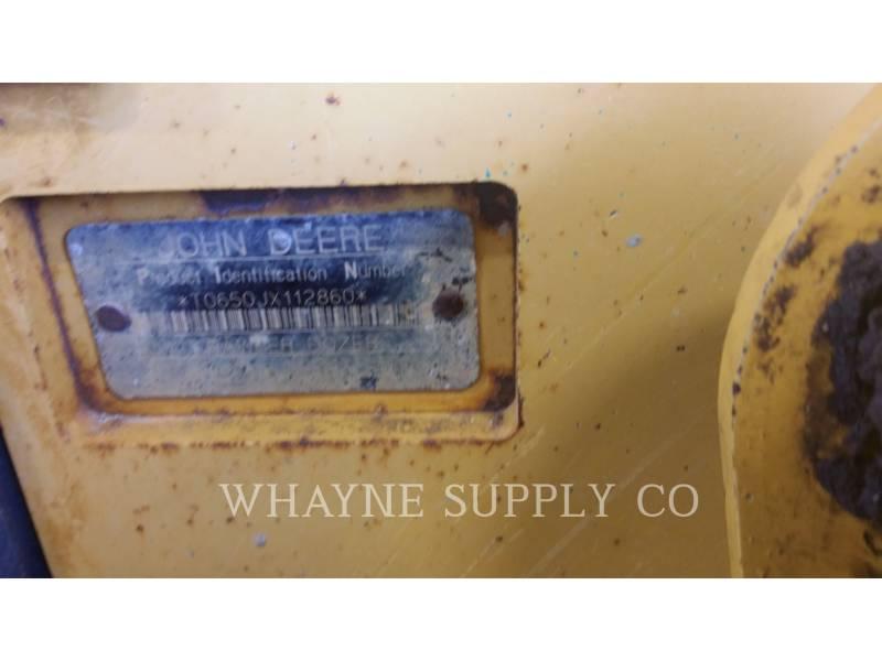 JOHN DEERE TRACK TYPE TRACTORS 650J LT equipment  photo 4