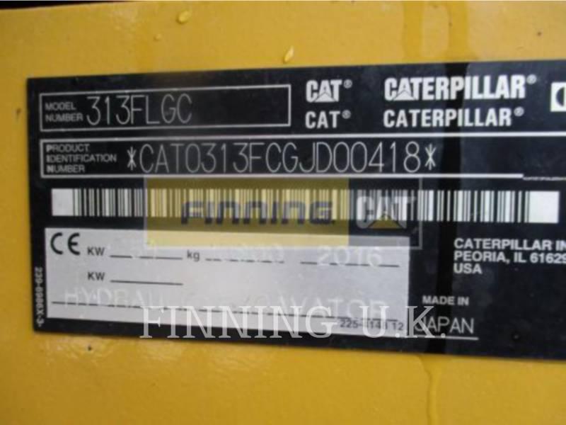 CATERPILLAR TRACK EXCAVATORS 313FLGC equipment  photo 2