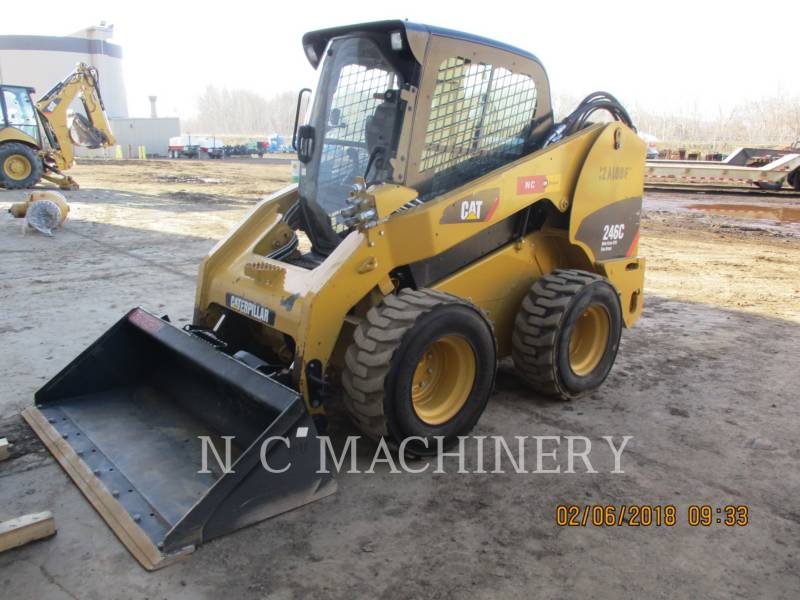 CATERPILLAR KOMPAKTLADER 246C S4CB equipment  photo 1