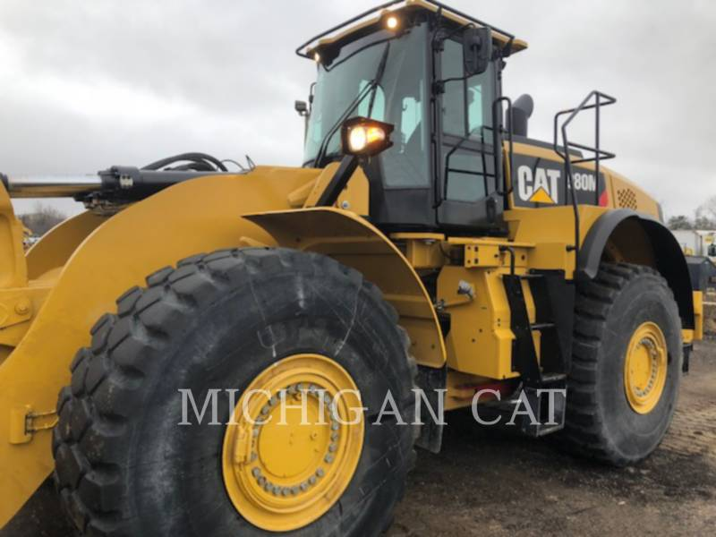 CATERPILLAR WHEEL LOADERS/INTEGRATED TOOLCARRIERS 980M LS equipment  photo 8