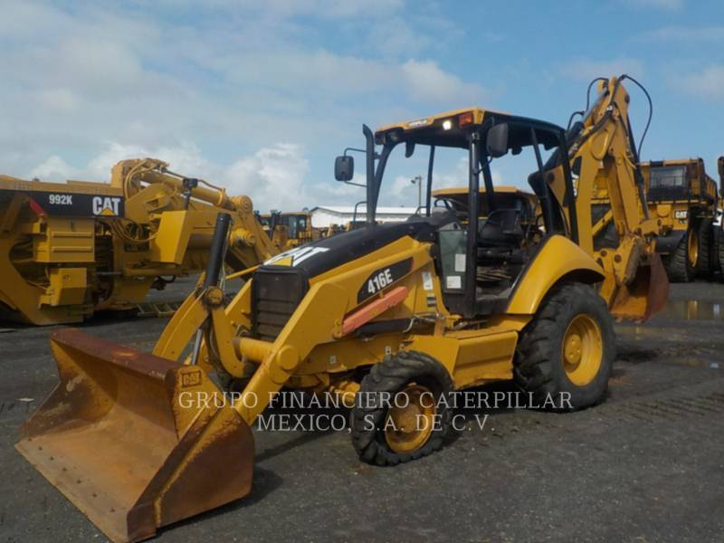 CATERPILLAR RETROESCAVADEIRAS 416EST equipment  photo 2