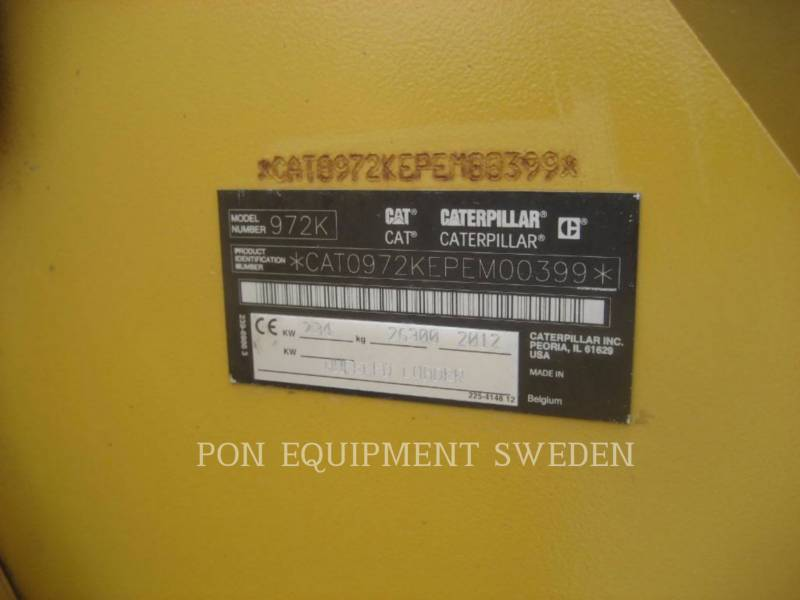 CATERPILLAR ホイール・ローダ/インテグレーテッド・ツールキャリヤ 972 K equipment  photo 12