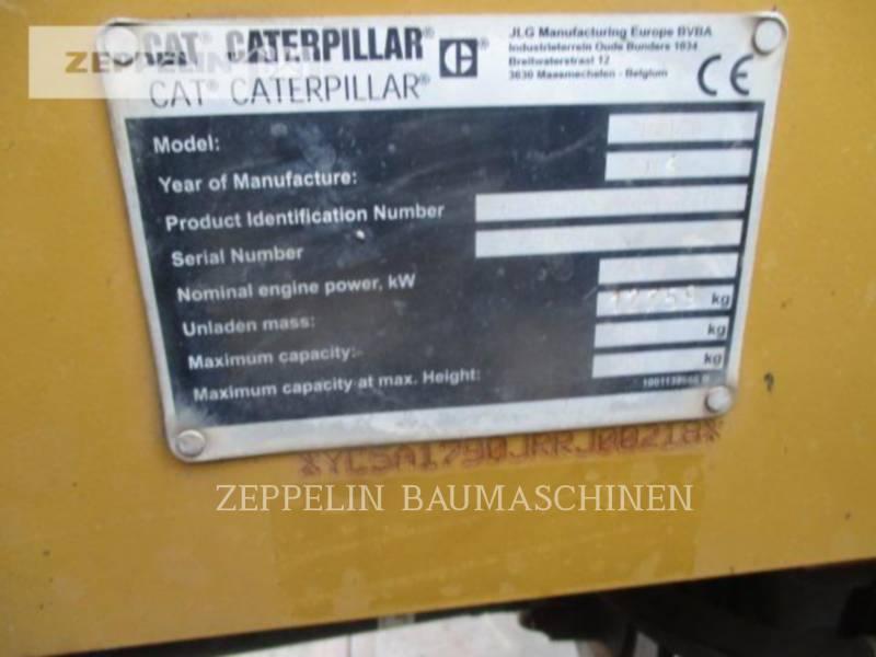 CATERPILLAR MANIPULADORES TELESCÓPICOS TH417C equipment  photo 9