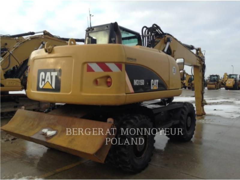 CATERPILLAR MOBILBAGGER M315/D equipment  photo 4
