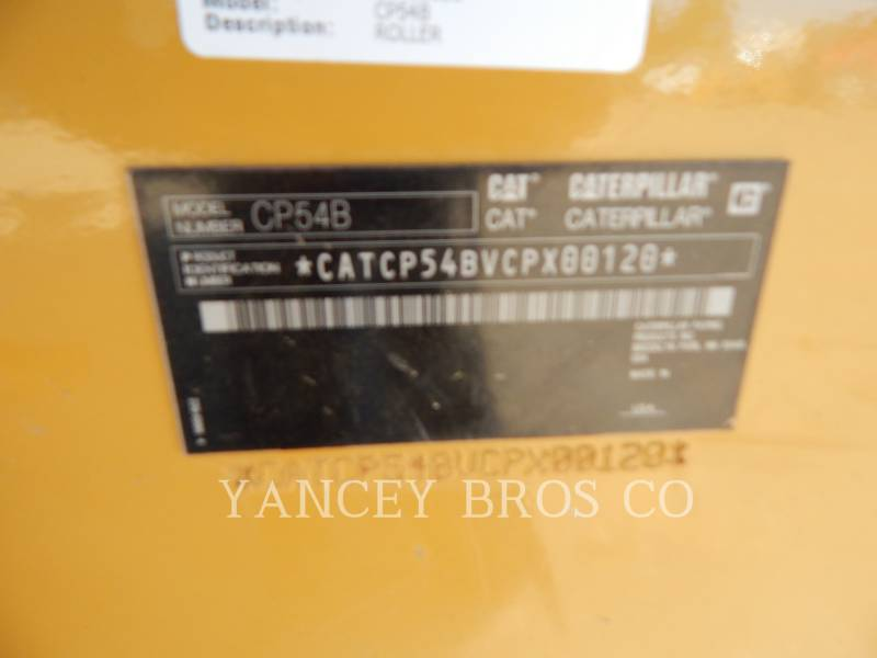CATERPILLAR COMPACTORS CP54B equipment  photo 5
