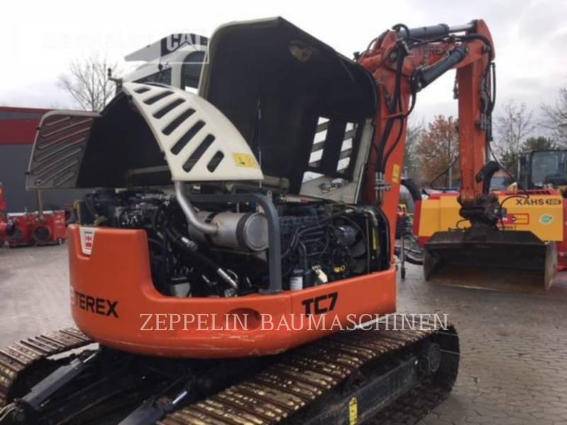 TEREX CORPORATION PELLES SUR CHAINES TC75 equipment  photo 23