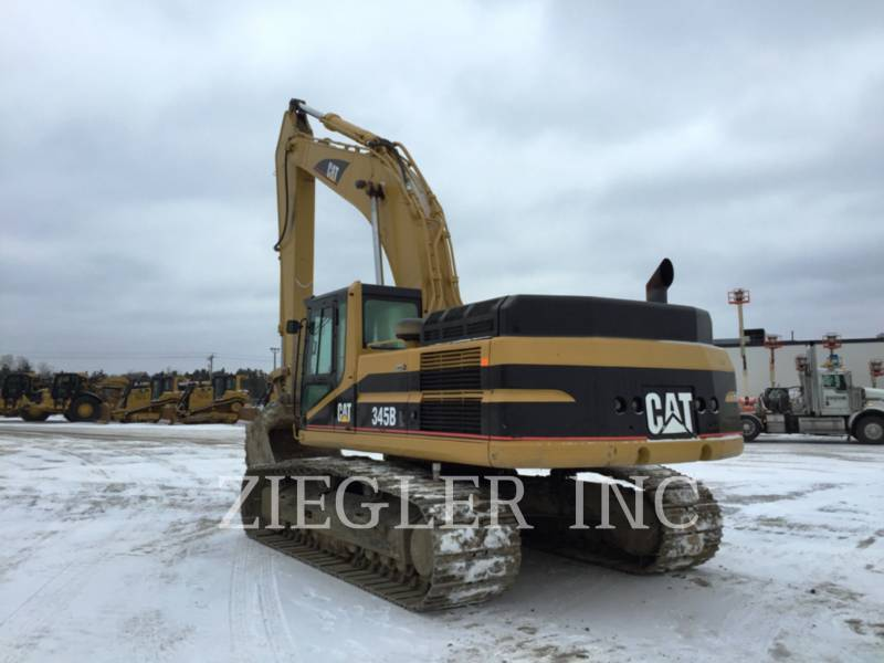 CATERPILLAR TRACK EXCAVATORS 345BIIL equipment  photo 4