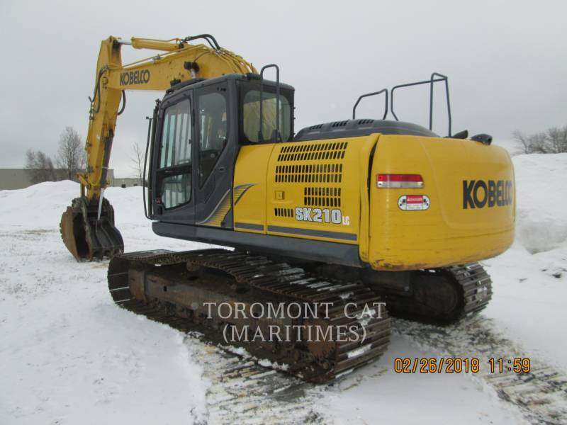 KOBELCO / KOBE STEEL LTD EXCAVADORAS DE CADENAS SK210 LC-9 equipment  photo 2
