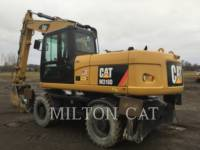 Caterpillar EXCAVATOARE PE ROŢI M318D equipment  photo 3