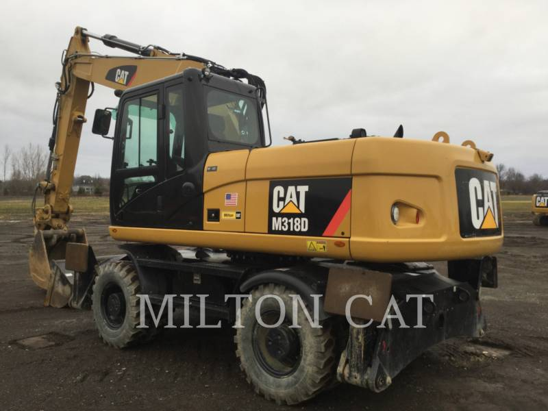 CATERPILLAR MOBILBAGGER M318D equipment  photo 3