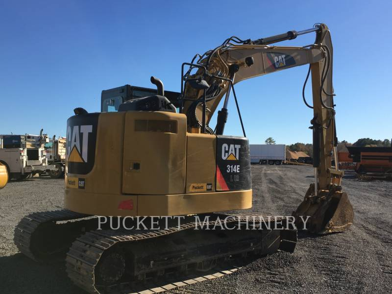 CATERPILLAR TRACK EXCAVATORS 314E LCR equipment  photo 4