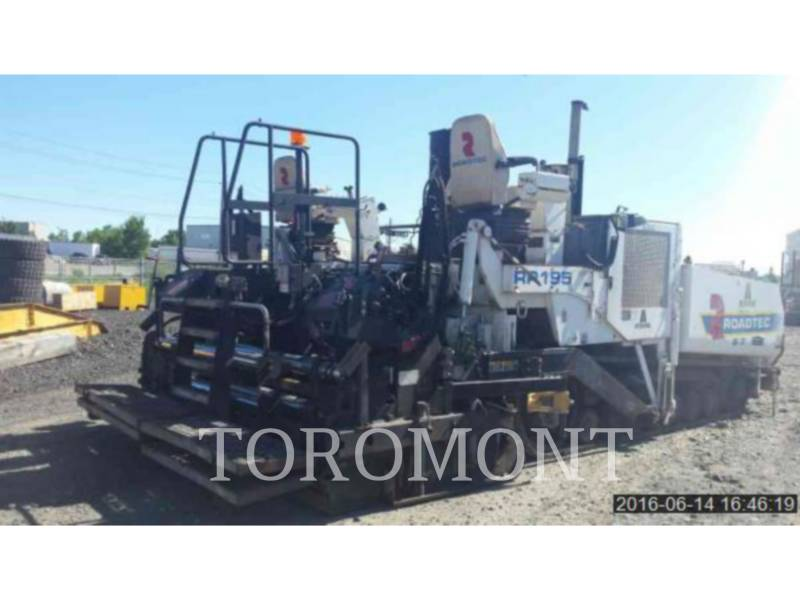 ROADTEC FINISSEURS RP195 equipment  photo 4