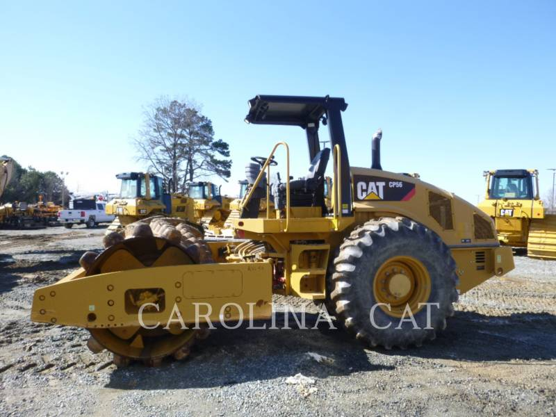 CATERPILLAR EINZELVIBRATIONSWALZE, BANDAGE CP56 equipment  photo 1