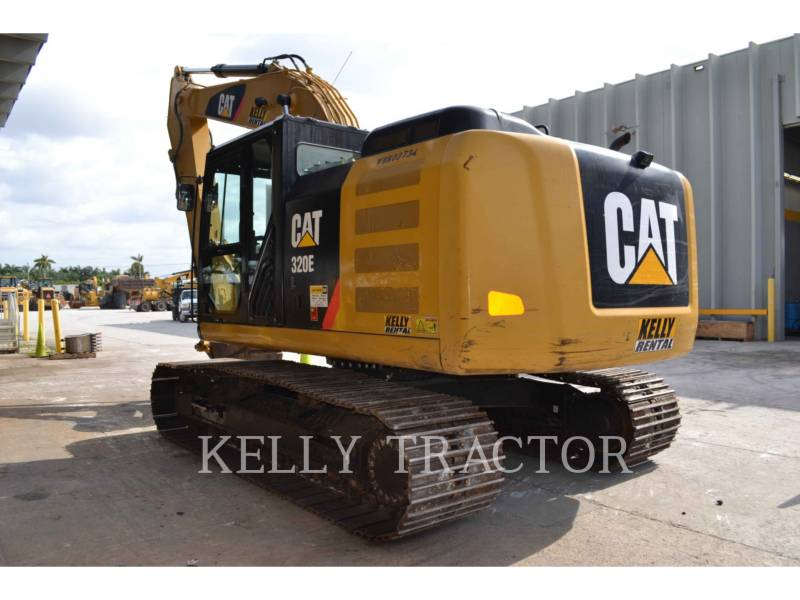 CATERPILLAR KOPARKI GĄSIENICOWE 320EL equipment  photo 4