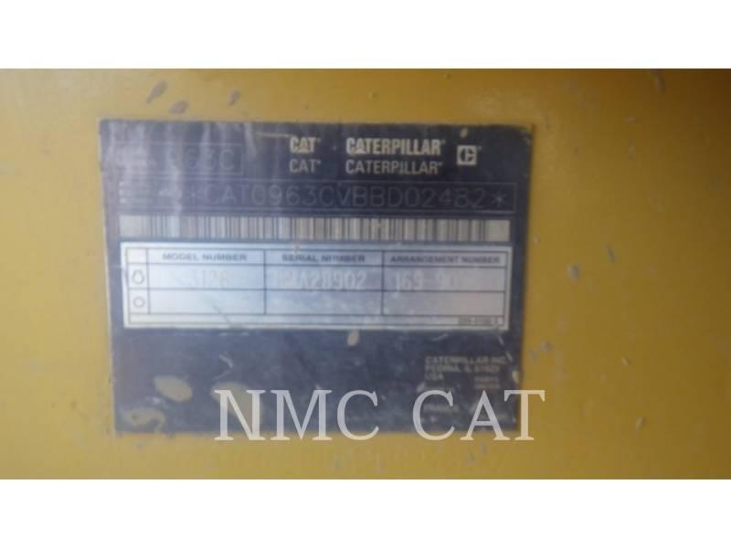 Caterpillar ÎNCĂRCĂTOARE CU ŞENILE 963C equipment  photo 6