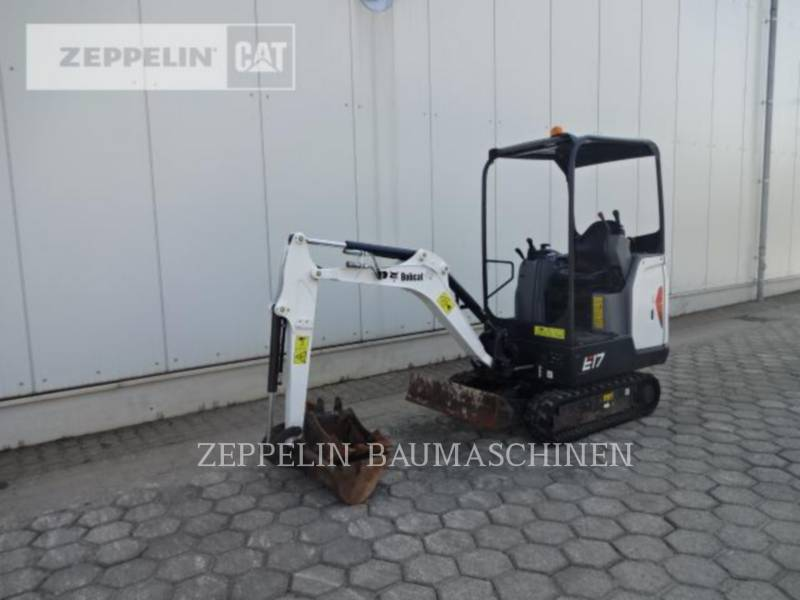 BOBCAT ESCAVATORI CINGOLATI E17 equipment  photo 1