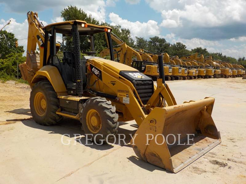 CATERPILLAR RETROEXCAVADORAS CARGADORAS 416F equipment  photo 3