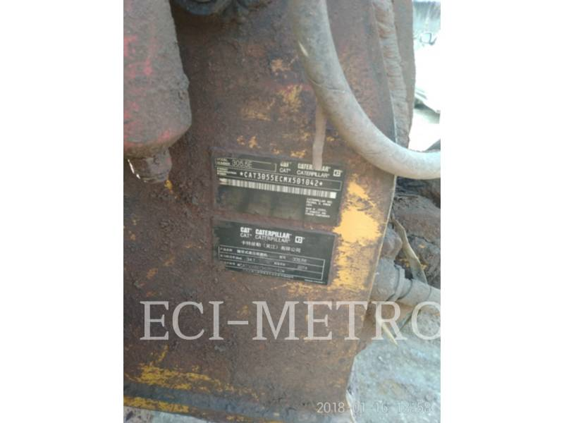 CATERPILLAR ESCAVATORI CINGOLATI 305.5 E CR equipment  photo 5