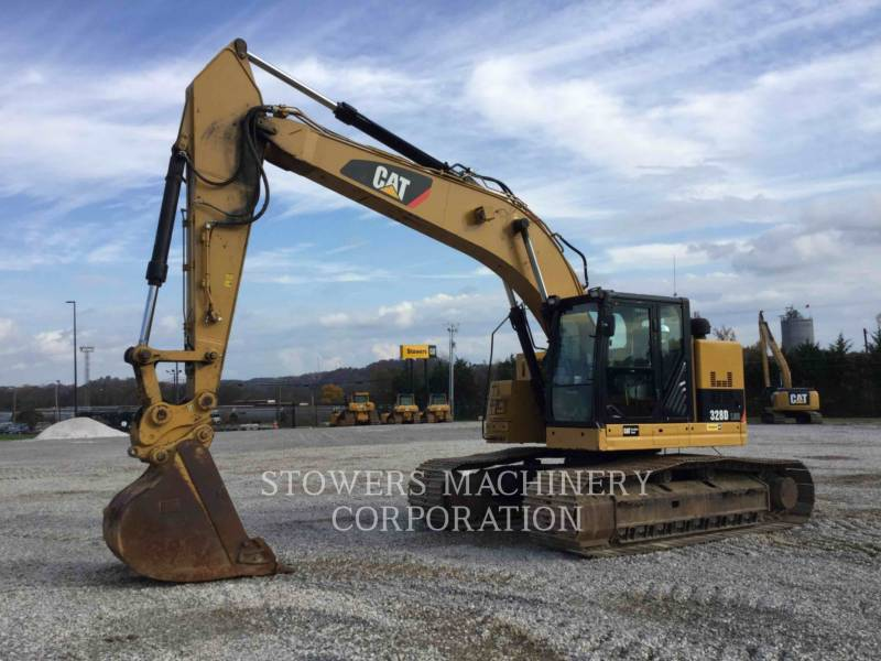 CATERPILLAR トラック油圧ショベル 328DLCR equipment  photo 1