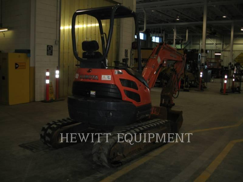 KUBOTA CANADA LTD. EXCAVADORAS DE CADENAS U25 equipment  photo 1