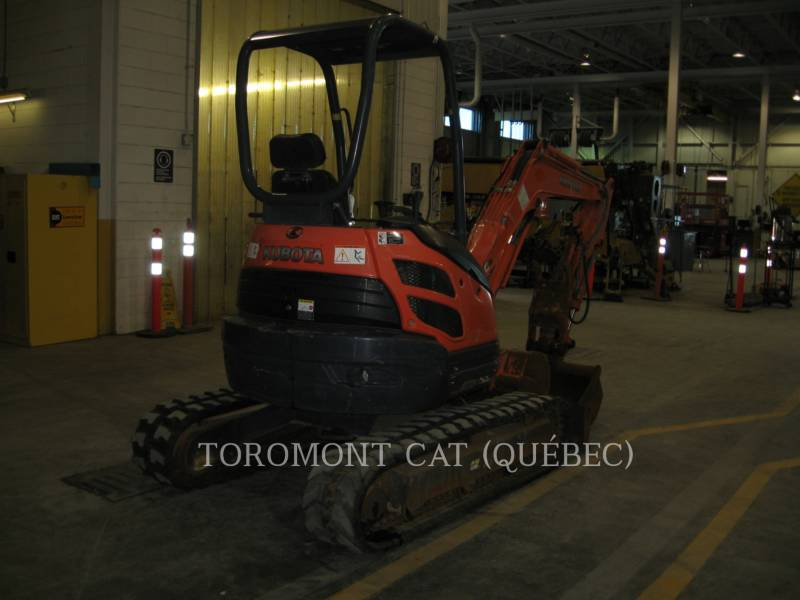 KUBOTA CANADA LTD. TRACK EXCAVATORS U25 equipment  photo 1