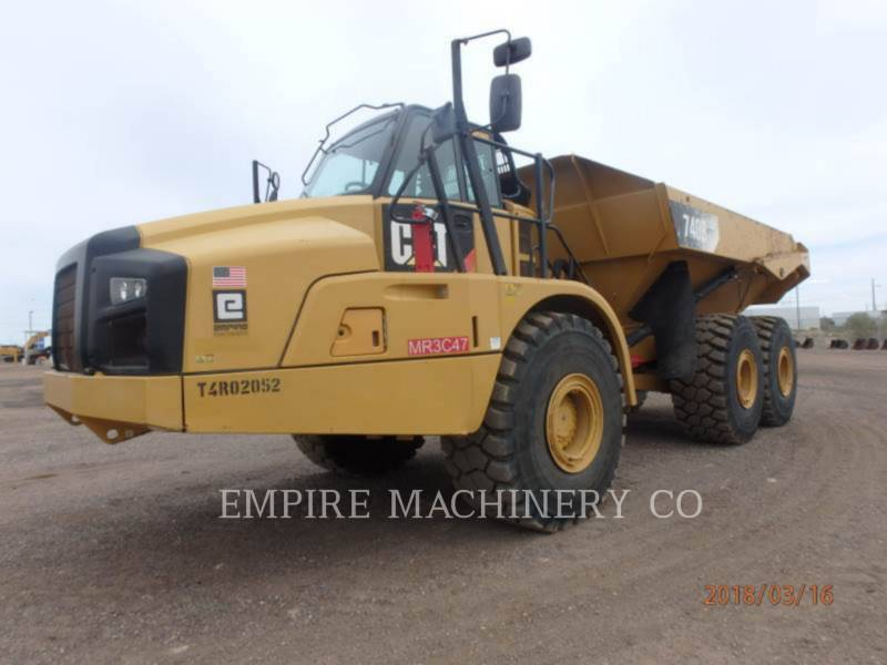 CATERPILLAR WOZIDŁA TECHNOLOGICZNE 740B TG equipment  photo 4