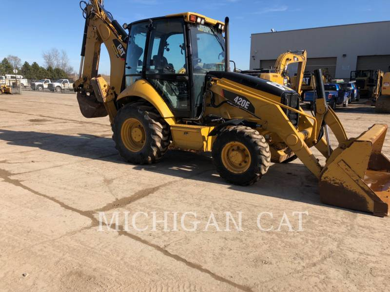 CATERPILLAR BACKHOE LOADERS 420E C equipment  photo 2