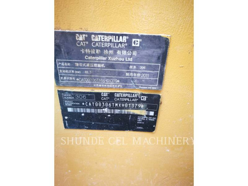 CATERPILLAR ESCAVATORI CINGOLATI 306 equipment  photo 3