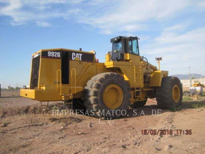 CATERPILLAR CARGADORES DE RUEDAS PARA MINERÍA 992G equipment  photo 2
