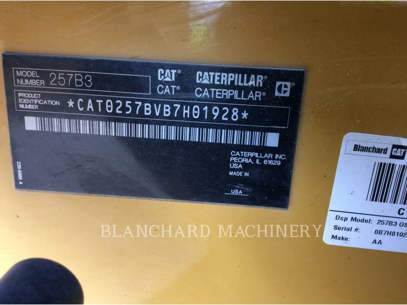 CATERPILLAR DELTALADER 257B3 equipment  photo 15