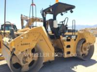 Equipment photo CATERPILLAR CB64 GPS ROLO COMPACTADOR DE ASFALTO DUPLO TANDEM 1