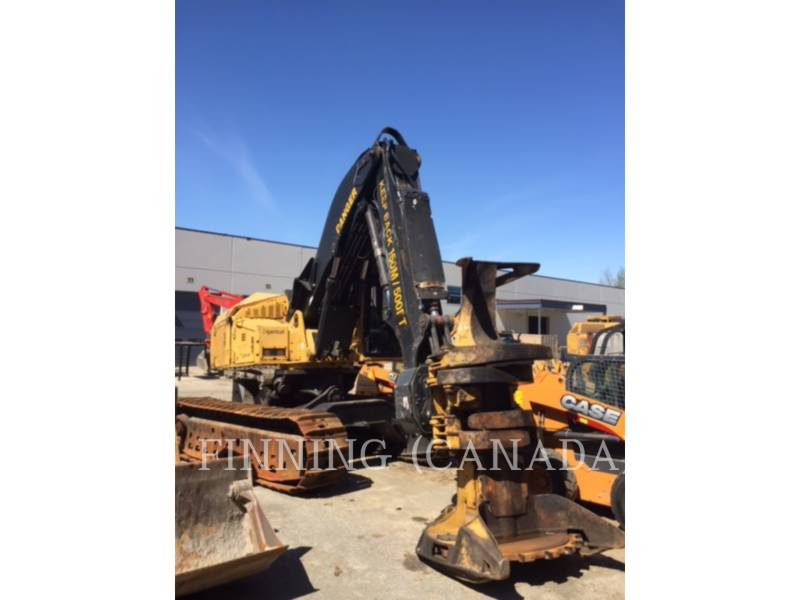 TIGERCAT FORESTRY - FELLER BUNCHERS - TRACK L870C equipment  photo 1