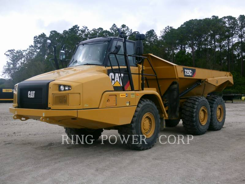 CATERPILLAR KNICKGELENKTE MULDENKIPPER 725C2 equipment  photo 1