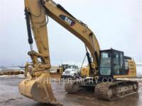 CATERPILLAR TRACK EXCAVATORS 329F L CF equipment  photo 2