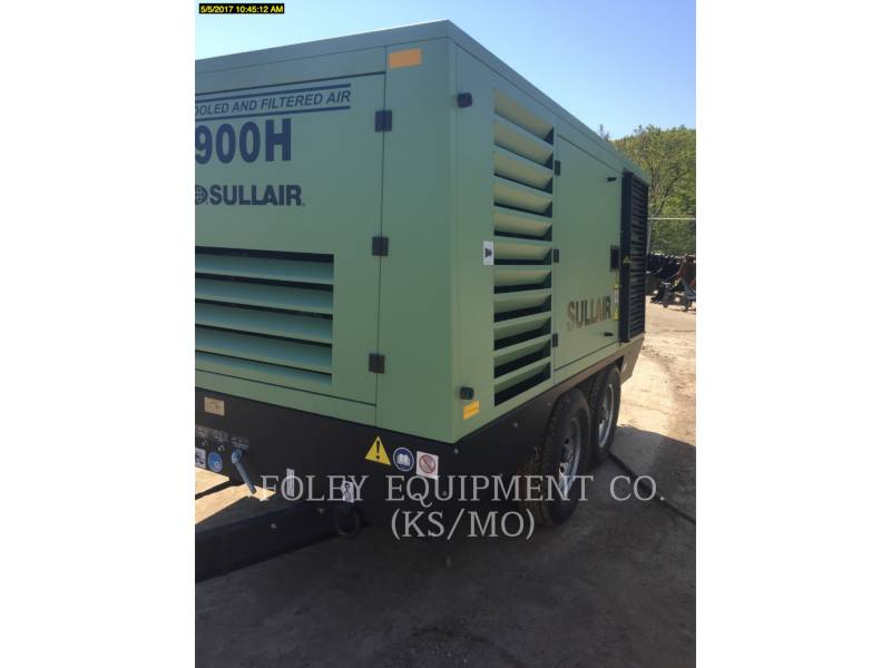 SULLAIR AIR COMPRESSOR 900HAF equipment  photo 4