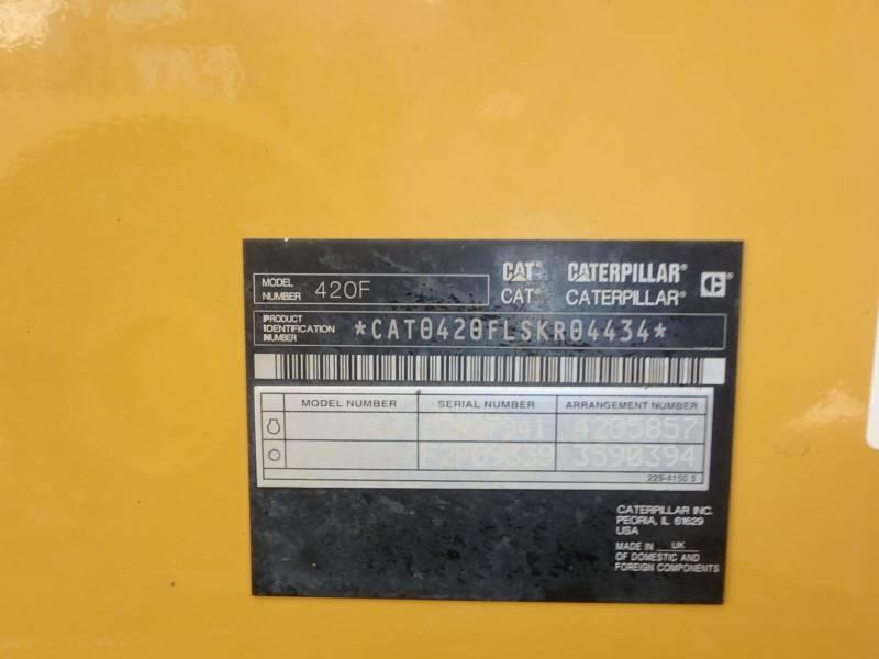 CATERPILLAR CHARGEUSES-PELLETEUSES 420FST equipment  photo 13