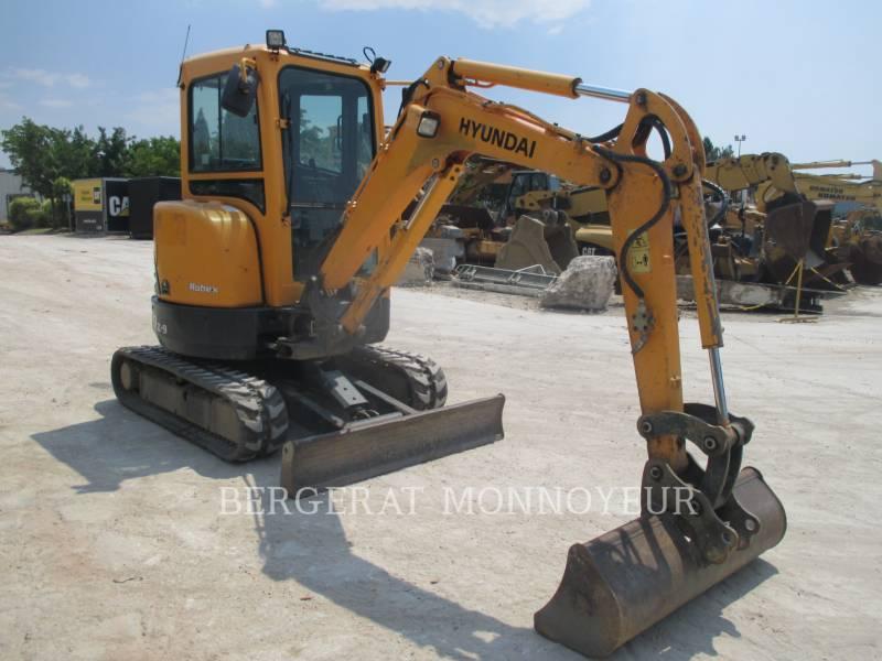 HYUNDAI EXCAVADORAS DE CADENAS R27Z.9 equipment  photo 12