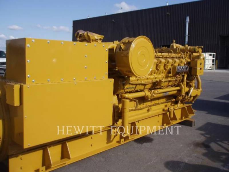 CATERPILLAR STATIONARY GENERATOR SETS 3516 1500KW 4160V equipment  photo 5