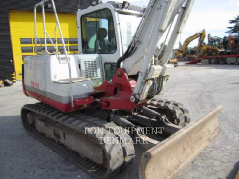 CATERPILLAR TRACK EXCAVATORS TB175 equipment  photo 7