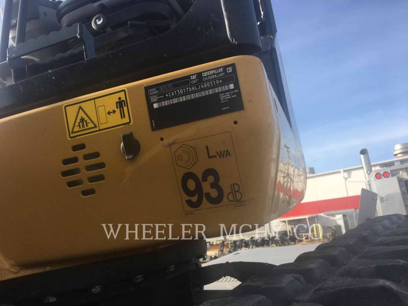 CATERPILLAR ESCAVATORI CINGOLATI 301.7D C1T equipment  photo 4