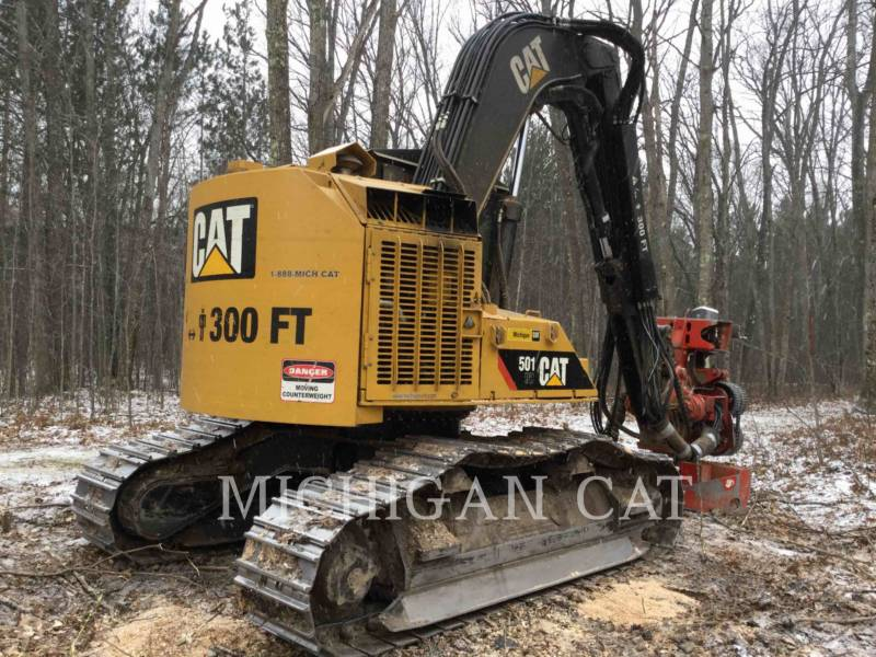 CATERPILLAR FORESTRY - PROCESSOR 501HD equipment  photo 4
