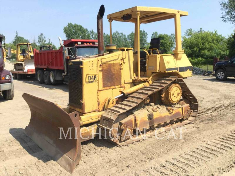 CATERPILLAR TRACK TYPE TRACTORS D4HII equipment  photo 2