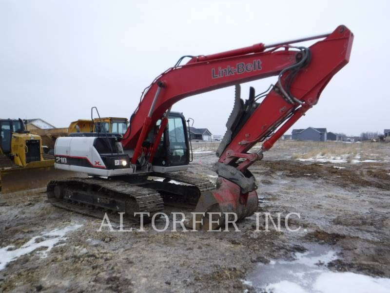 LINK-BELT CONST. TRACK EXCAVATORS 210X2 equipment  photo 2