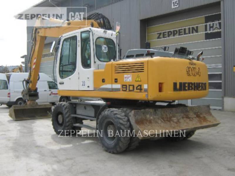 LIEBHERR WHEEL EXCAVATORS A904CLIT equipment  photo 9
