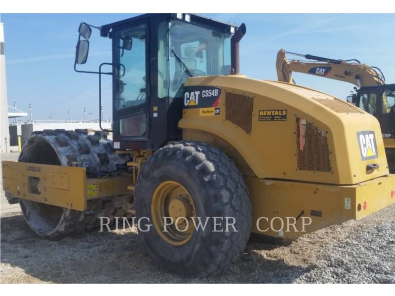 CATERPILLAR ROLO COMPACTADOR DE ASFALTO DUPLO TANDEM CS/P54BCAB equipment  photo 3