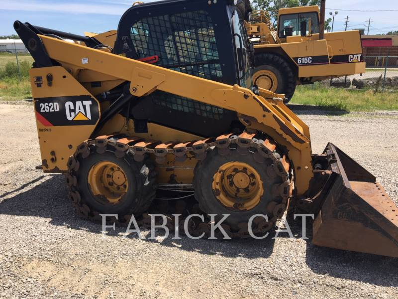 CATERPILLAR PALE COMPATTE SKID STEER 262D C3H2 equipment  photo 1