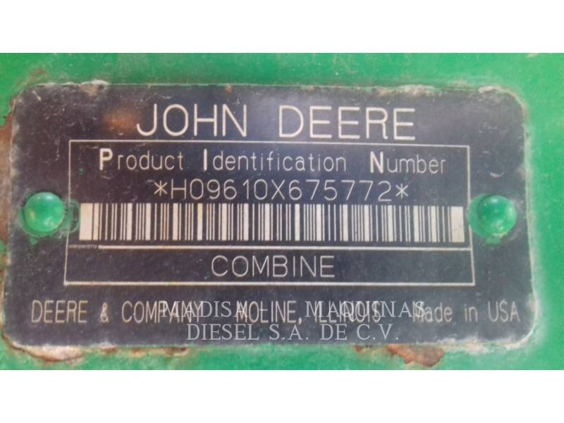 JOHN DEERE FOREST PRODUCTS 9610 equipment  photo 8