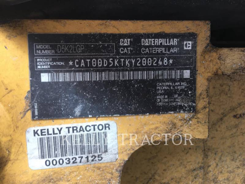 CATERPILLAR TRATORES DE ESTEIRAS D5K2LGP equipment  photo 19